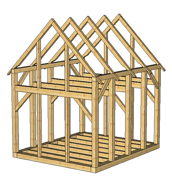 Where can i find cheap shed plans home owners guide to for Well shed plans