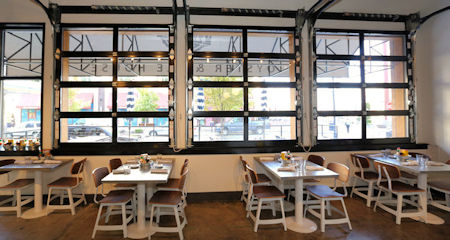 The Best Glass Garage Doors For Restaurants Home Owners