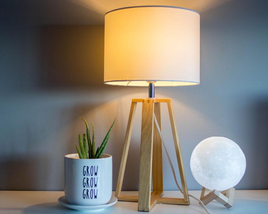 simple light source can serve as a decor piece