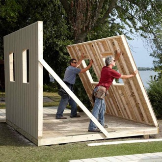 take your time to avoid mistakes while building a shed