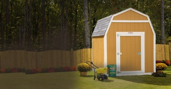 pick a location for a shed